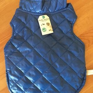 Other - NWT Lightweight Dog Puff Coat Small (Small breed)